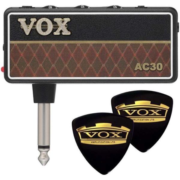 VOX AP2-AC+VOXピック2枚 amPlug2 AC30/メール便発送・代金引換不可