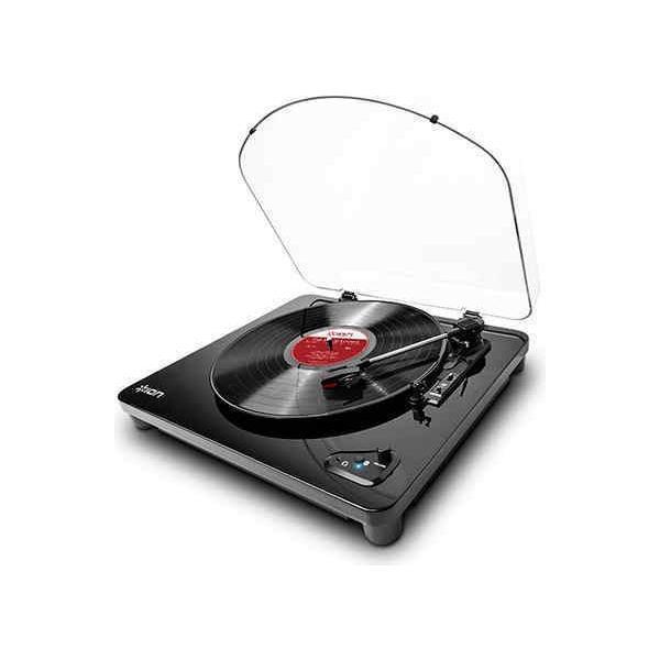 ION AUDIO Air LP(ピアノブラック) Bluetooth対応 レコードプレーヤー