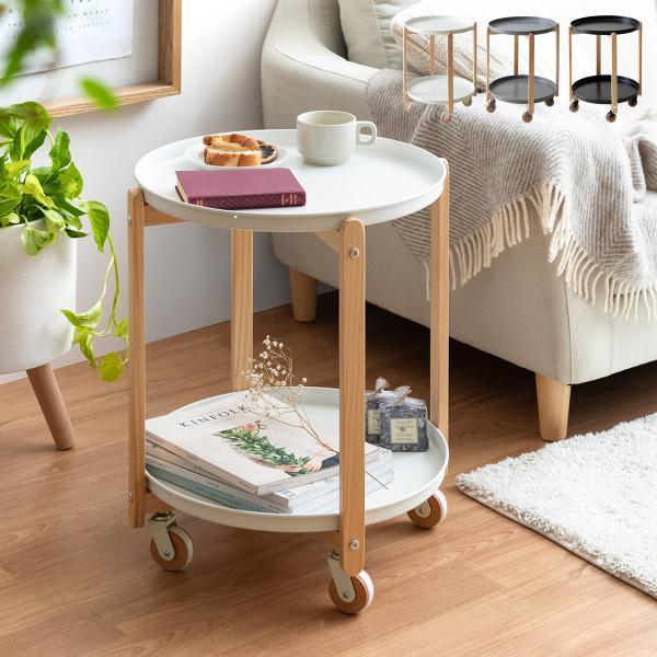 サイドテーブルおしゃれ北欧ソファーサイドテーブルベッドサイドテーブルキャスター付きミニテーブルコーヒーテーブルナイトテーブル