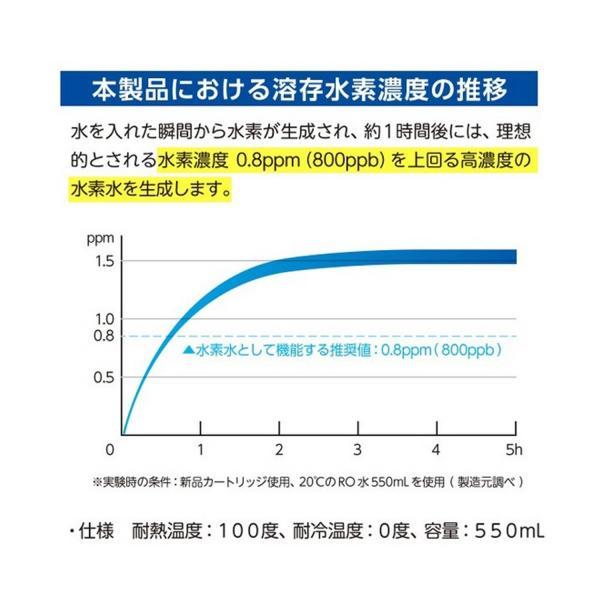 【送料無料】水素水生成器 サンテエミュー 簡単 電池不要 airleaf 06