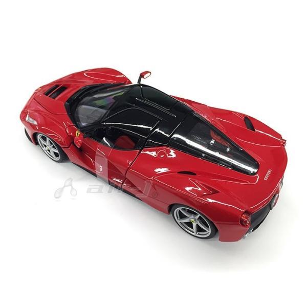 Ferrari LaFerrari 1/18 スケール ミニカー フェラーリ ラ・フェラーリ レッド モデルカー burago ブラーゴ 送料無料|airs|02