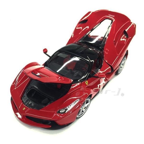 Ferrari LaFerrari 1/18 スケール ミニカー フェラーリ ラ・フェラーリ レッド モデルカー burago ブラーゴ 送料無料|airs|03
