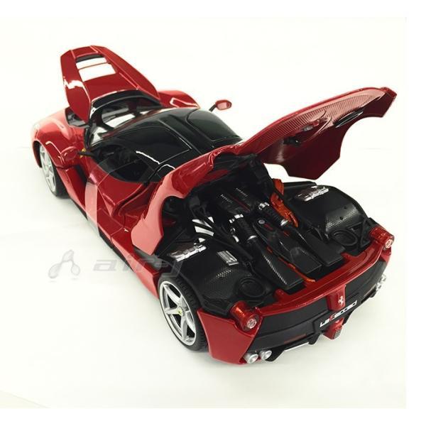 Ferrari LaFerrari 1/18 スケール ミニカー フェラーリ ラ・フェラーリ レッド モデルカー burago ブラーゴ 送料無料|airs|04