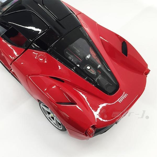 Ferrari LaFerrari 1/18 スケール ミニカー フェラーリ ラ・フェラーリ レッド モデルカー burago ブラーゴ 送料無料|airs|05