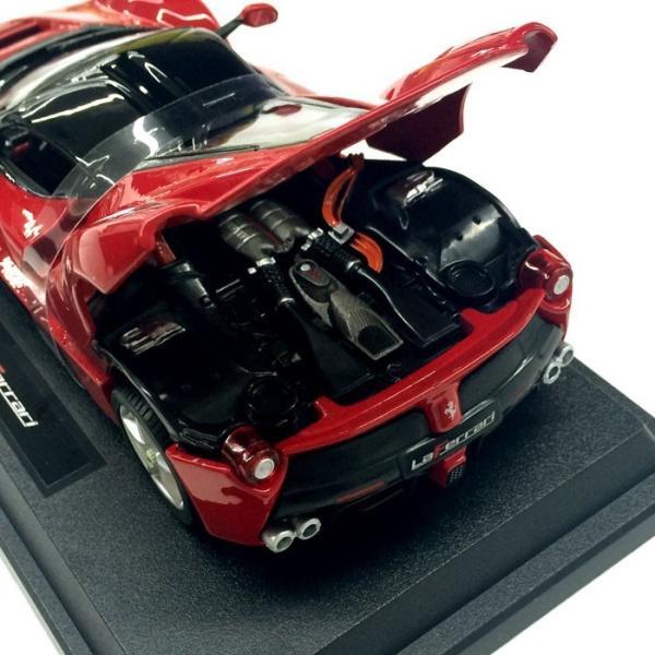 Ferrari LaFerrari 1/24 スケール ミニカー フェラーリ ラ・フェラーリ レッド モデルカー burago ブラーゴ 送料無料|airs|04