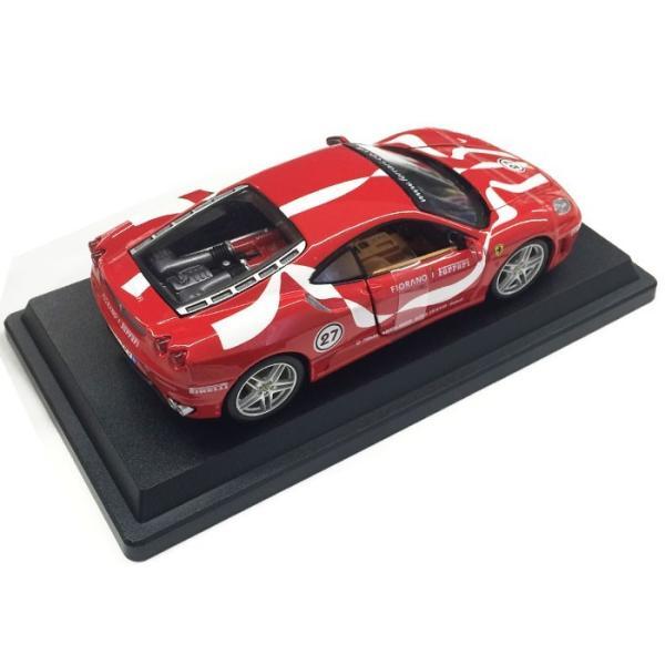 フェラーリ・F430 フィオラノ(Ferrari F430 Fiorano ) レッド モデルカー burago ブラーゴ 送料無料|airs|03
