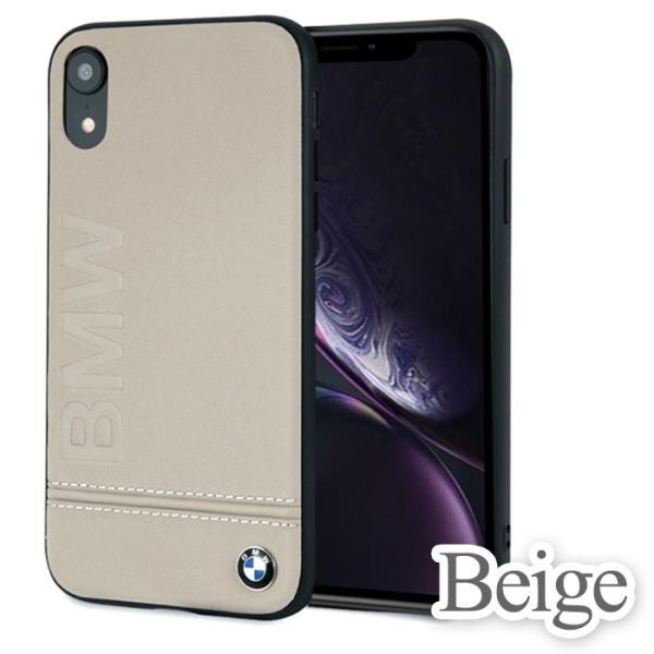 BMW iPhoneXR ハードケース 公式ライセンス品 アイフォンケース 本革 ブランド メンズ バックカバー|airs|03