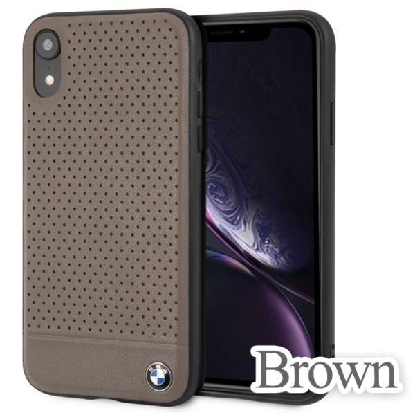 BMW iPhoneXR ハードケース 公式ライセンス品 アイフォンケース ブランド メンズ バックカバー ブラック ブラウン airs 03