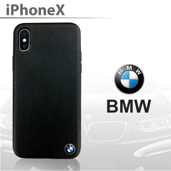 BMW iPhoneX ハードケース 公式ライセンス品 本革 アイフォンケース ブランド メンズ おしゃれ|airs