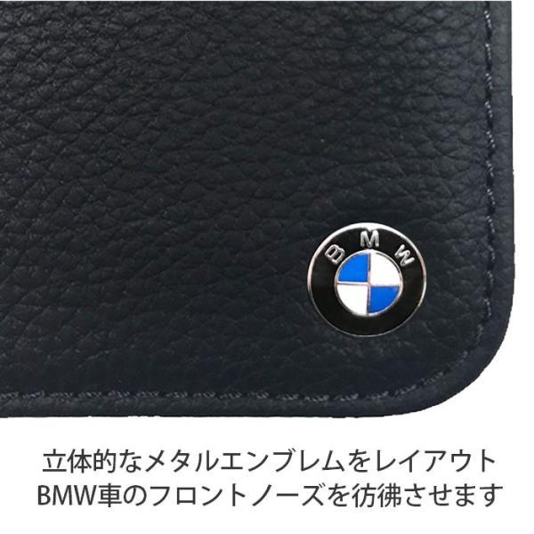 BMW iPhoneX ハードケース 公式ライセンス品 本革 アイフォンケース ブランド メンズ おしゃれ|airs|03