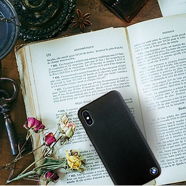 BMW iPhoneX ハードケース 公式ライセンス品 本革 アイフォンケース ブランド メンズ おしゃれ|airs|06
