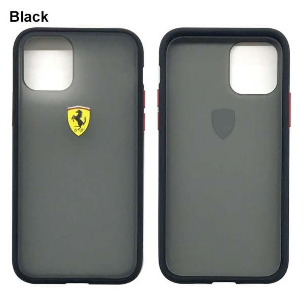 Ferrari フェラーリ 公式ライセンス品 iPhone11Pro iPhone11 バンパー ハードケース アイフォン11Pro アイフォン11 airs 02