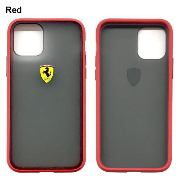 Ferrari フェラーリ 公式ライセンス品 iPhone11Pro iPhone11 バンパー ハードケース アイフォン11Pro アイフォン11 airs 03