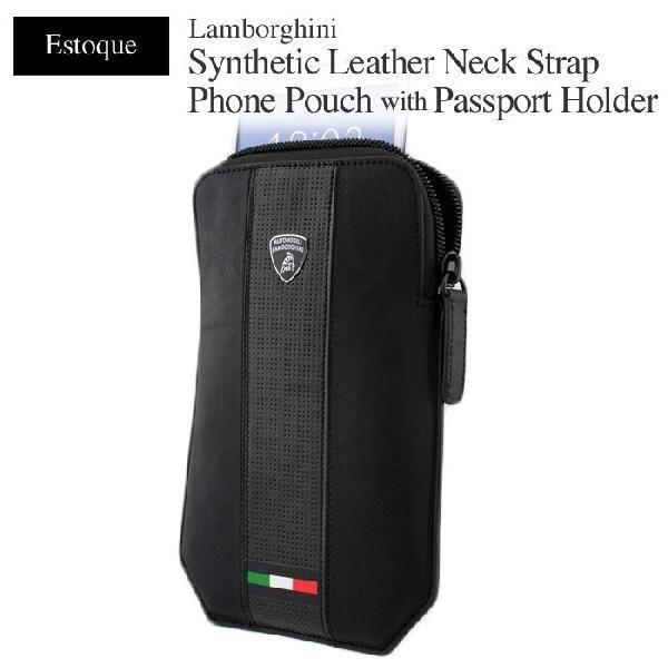 ランボルギーニ公式スマホ用ポーチ&パスポート・フォルダー 18%OFF セール ダメージ型紙のため airs