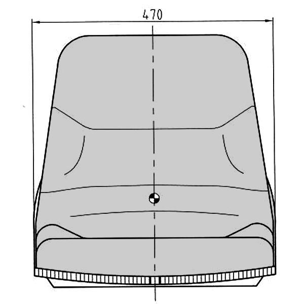 【送料無料】交換用座席3型★新型パワーショベルなどに!|aishinshop|03
