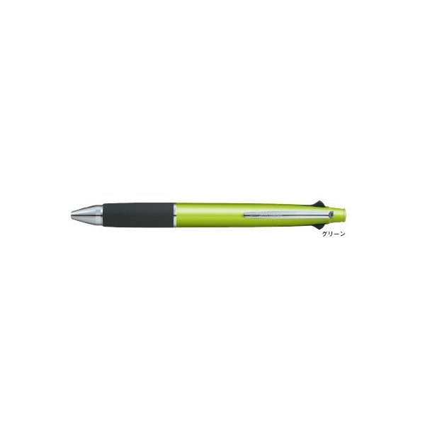 ジェットストリーム 4&1多機能ペン [黒/赤/青/緑+シャープペンシル] 0.7mm グリーン MSXE5-1000-07