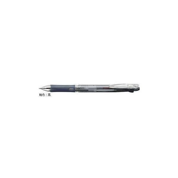 ゼブラ 油性ボールペン ZEBRA クリップ-オン スリム2C 黒 B2A5-BK