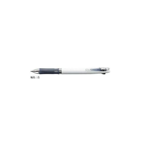 ゼブラ 油性ボールペン ZEBRA クリップ-オン スリム2C 白 B2A5-W