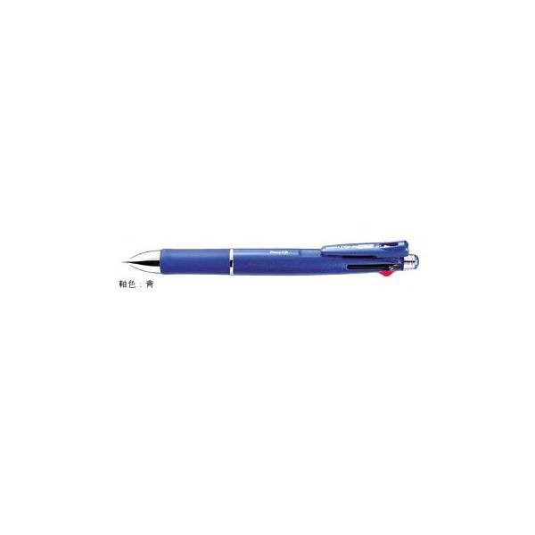 クリップ-オン マルチ1000 [黒/赤/青/緑+シャープペンシル] 0.7mm 青 B4SA2-BL
