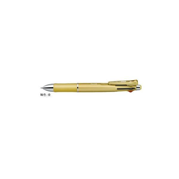 クリップ-オン マルチ1000S [黒/赤/青/緑+シャープペンシル] 0.7mm 金 B4SA3-GO
