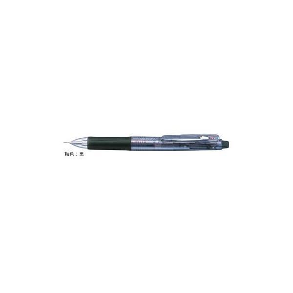 多色ジェルボールペン サラサ2+S [黒/赤+シャープペンシル] 0.5mm 黒 SJ2-BK