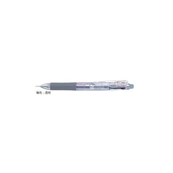 多色ジェルボールペン サラサ2+S [黒/赤+シャープペンシル] 0.5mm 透明 SJ2-C