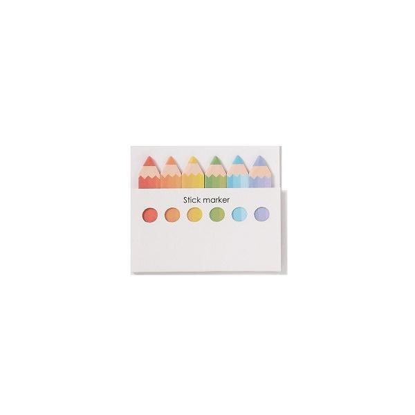 色鉛筆型ふせん  【ご注文単位 300個以上】 aisol33