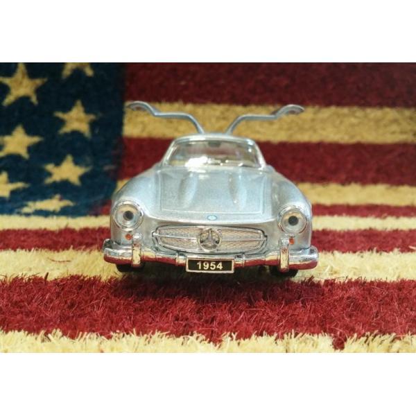 KiNSMART製 プルバックミニカー 1954 メルセデスベンツ 300SL シルバー・ブラック aiwa-corp-net 04