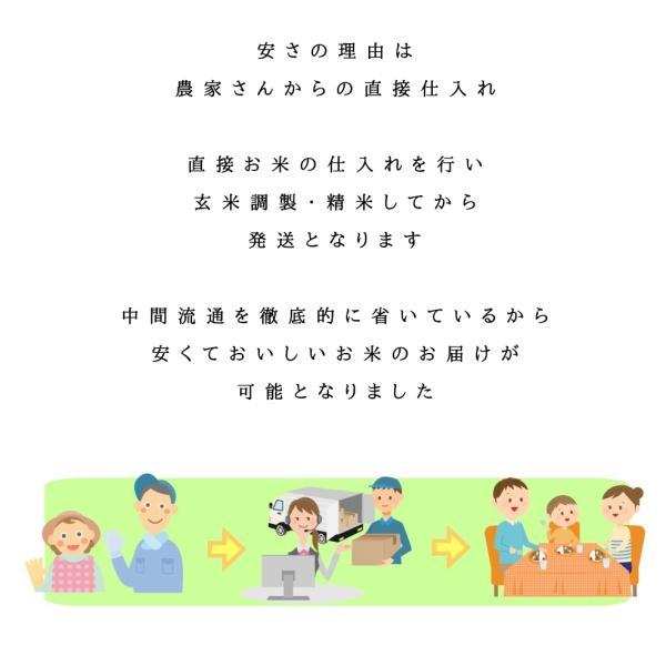 ※ふくしまプライド。体感キャンペーン 10%OFFクーポン対象商品※ BG無洗米 コシヒカリ お米 10kg (5kg×2袋) 白米 福島県産 令和元年産 送料無料|aizu-crops|03