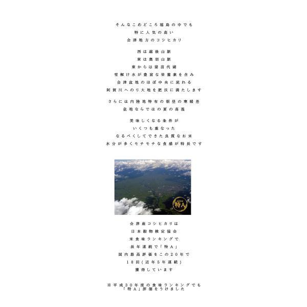 ※ふくしまプライド。体感キャンペーン 10%OFFクーポン対象商品※ BG無洗米 コシヒカリ お米 10kg (5kg×2袋) 白米 福島県産 令和元年産 送料無料|aizu-crops|04