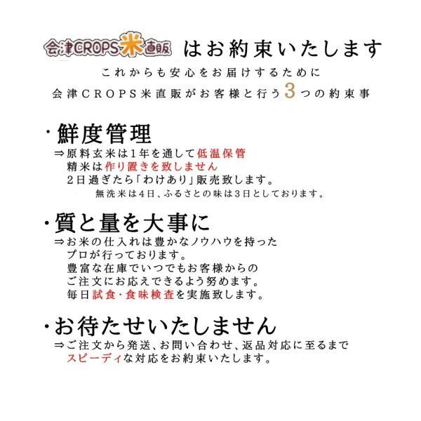 【新米】 ふくしまプライド。体感キャンペーン(お米) ひとめぼれ お米 10kg×3袋 精白米 30kg 福島県 令和元年産 送料無料|aizu-crops|05