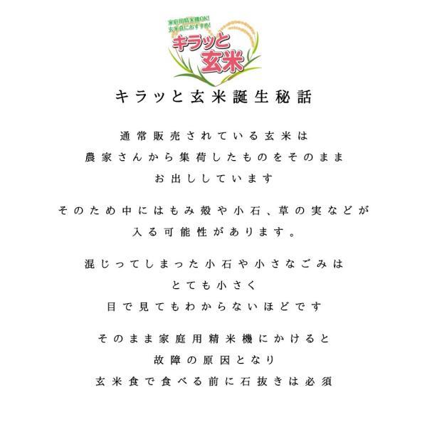 ふくしまプライド。体感キャンペーン(お米) ひとめぼれ お米 調整済玄米 キラッと玄米30kg  平成30年 福島県産 送料無料 あすつく|aizu-crops|05