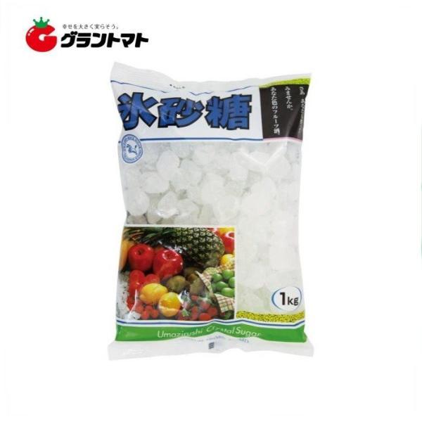【1ケース】中日本 氷砂糖(クリスタル) (1kg×10個入り)【同梱不可】【送料無料】