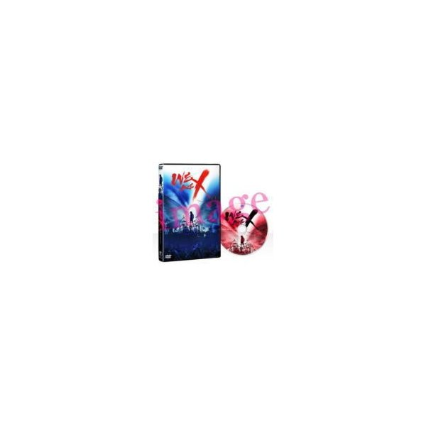 X JAPAN DVD/WE ARE X DVDスタンダード・エディション 17/12/13発売 オリコン加盟店