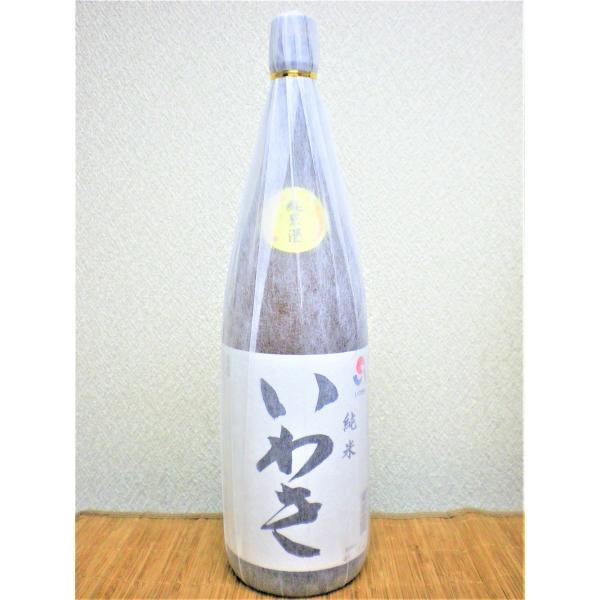 日本酒 いわき純米酒 1.8L瓶 福島県|ajima-saketen