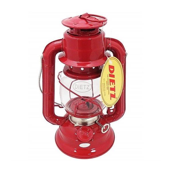 【Dietz デイツ 】#50 コメット オイル ランタン レッド Comet Oil Burning Lantern ハリケーンランタン/灯油/ランプ/キャンプ/BBQ/アウトドア/ランタン/釣り/防