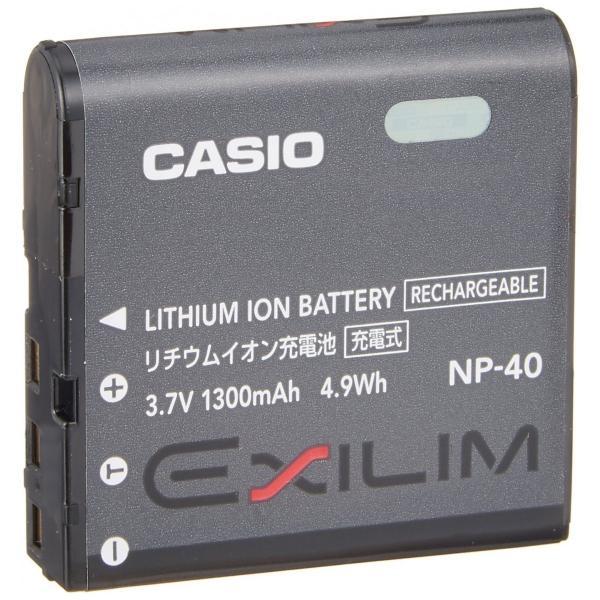 送料無料 CASIO カシオ リチウムイオン充電池 NP-40 純正