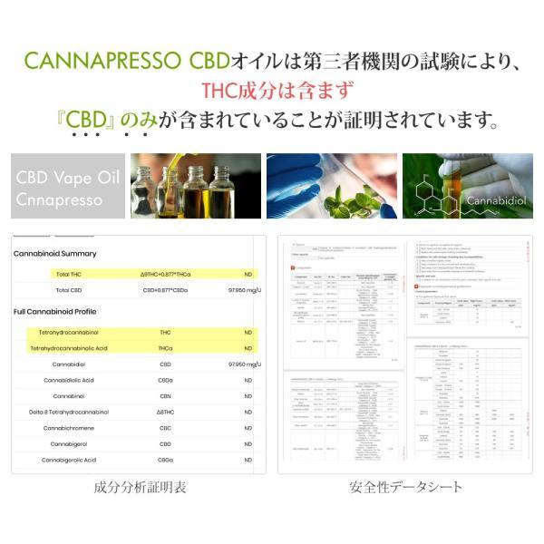 CBDオイル 10ml 高濃度100mg MCTオイル カンナビジオール CANNAPRESSO カンナプレッソ|ajplaza|11