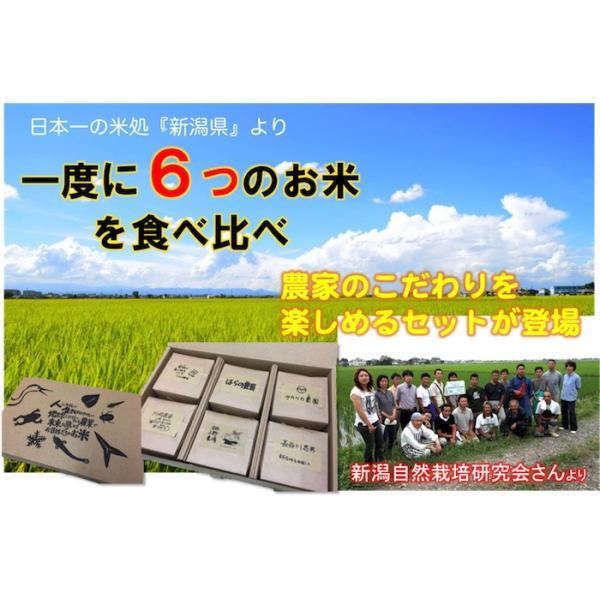 新潟の自然栽培米「6農家」食べ比べセット|ak-friend