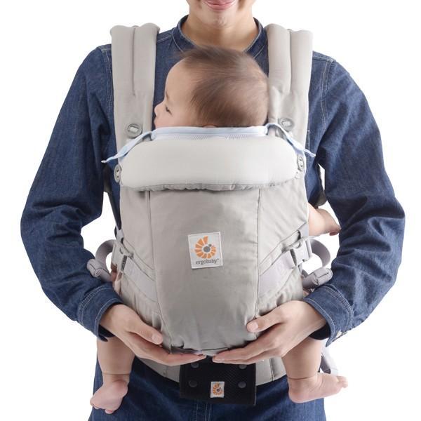 Baby Hopper Ergobaby エルゴベビー用 サマーパッド (ホワイト)|akachan-station|03