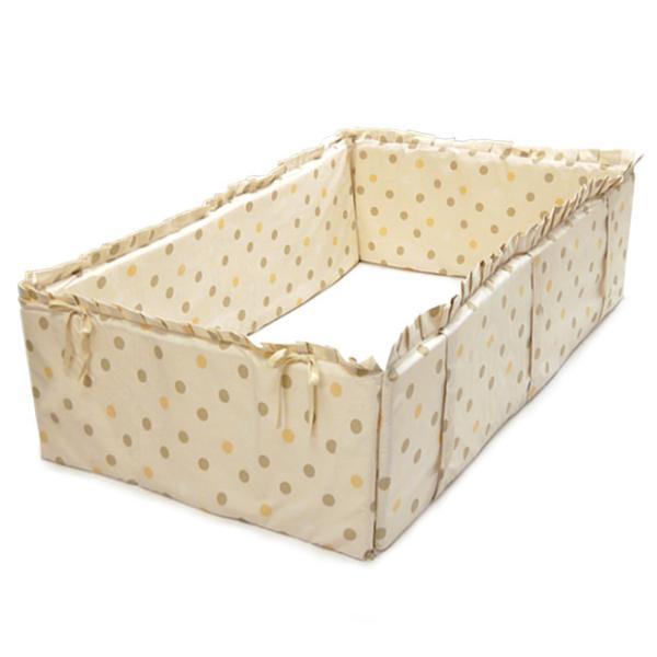 ベッドガード 赤ちゃん ベビー おしゃれ 全周タイプ サイドパッド 通常サイズベッド用 ヤトミ baby|akachandepart