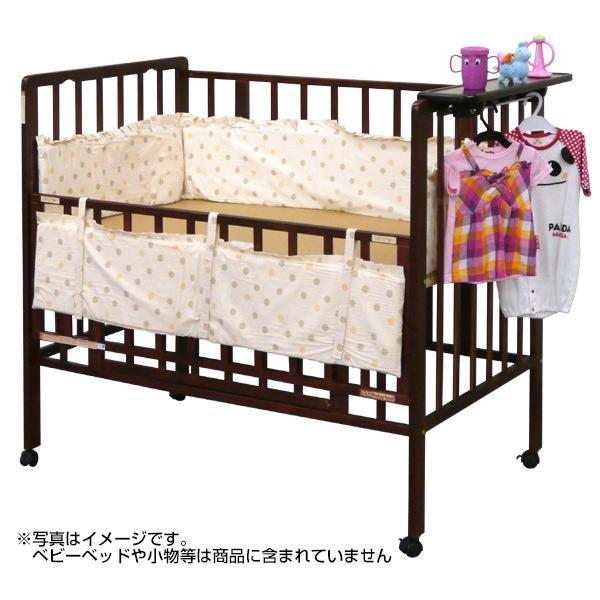 ベッドガード 赤ちゃん ベビー おしゃれ 全周タイプ サイドパッド 通常サイズベッド用 ヤトミ baby|akachandepart|02
