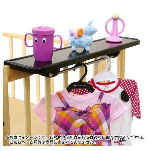 【ベッドセット】ミニ立ちベッド プラム ちょこっとテーブル付|akachandepart|04