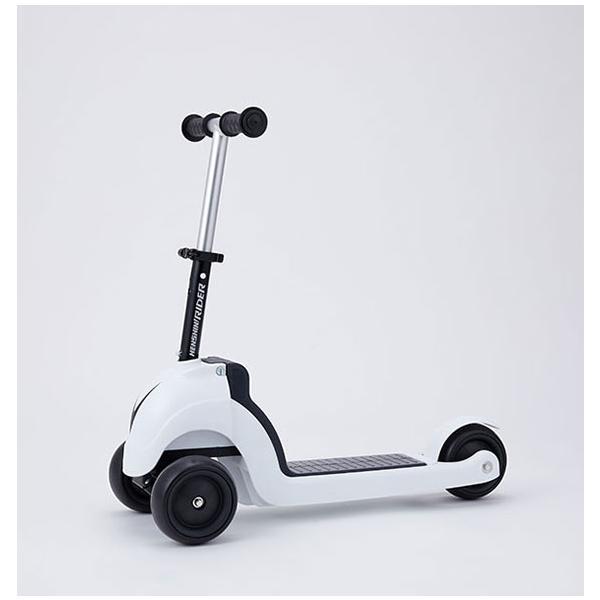 野中製作所 へんしん!ライダーSP ホワイト【2471】足けり乗用 スクーター ワールド