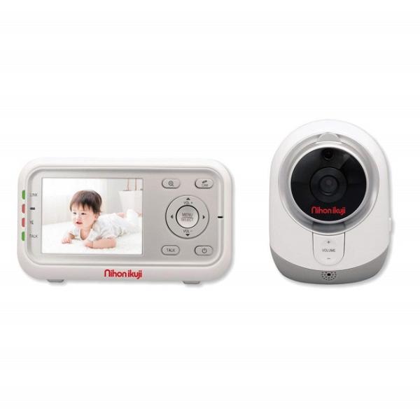日本育児 デジタルカラースマートビデオモニターIII 【5830001】モニター