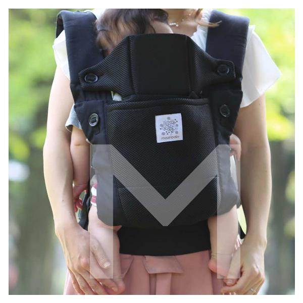 抱っこ紐 新生児 コンパクト 簡単 moahbaby ヤトミ ベビーキャリア|akachandepart|18