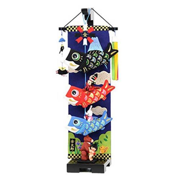 室内鯉幟セット 大相撲金太郎鯉のぼり 小 66cm(スタンド付) つるし飾り|akachandepart