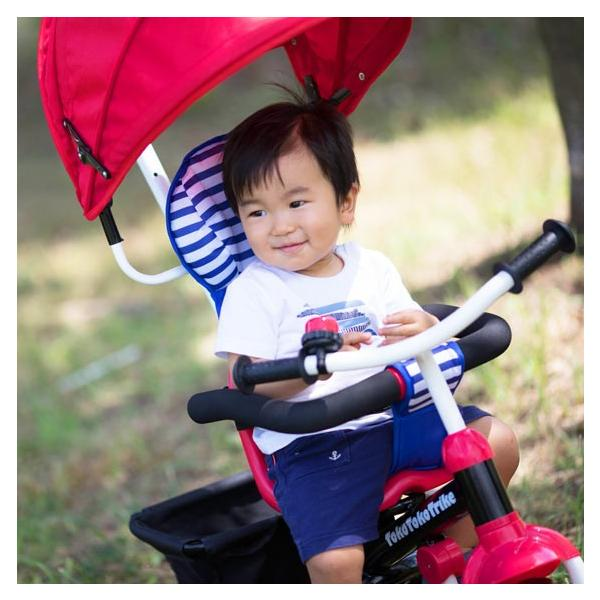 三輪車 1歳 2歳 3歳 おしゃれ 子供用 ベビー キッズ baby kids 自転車 トコトコトライク【プレゼント】 クリスマス プレゼント 2019|akachandepart|11