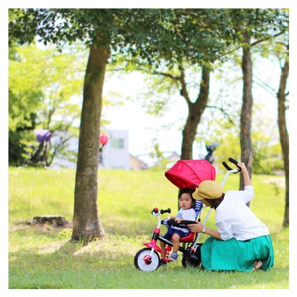三輪車 1歳 2歳 3歳 おしゃれ 子供用 ベビー キッズ baby kids 自転車 トコトコトライク【プレゼント】 クリスマス プレゼント 2019|akachandepart|10