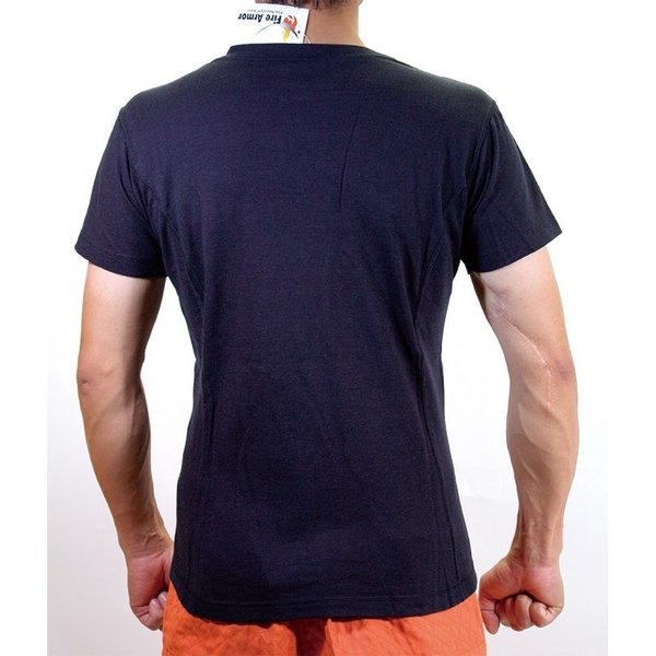 難燃Tシャツ ファイヤーアーマー メンズ 消防 火災 防炎 半袖Tシャツ|akagi-aaa|08